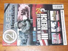 $$$ Revue 2e Guerre Mondiale N°63 Qui a vaincu le IIIe ReichUS ArmySturmgesc