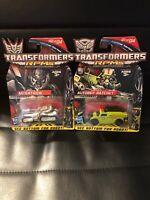 Lot 2 Transformers Combat Series RPMS Autobot Ratchet Decepticon Megatron 01 02