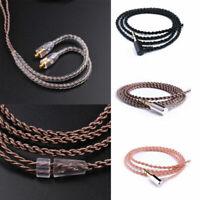 Upgrade DIY Mmcx Kabel Cord Line für Shure Se215 Se425 Se535 Se846 Kopfhörer Neu