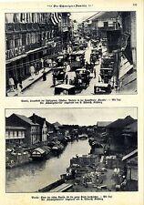 Manila filipinas calle principal escolta * grabaciones históricas de 1909