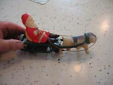 Rare Santa And Yale Bull Dog Celluloid Toy, (Made In Occupied Japan) New Haven