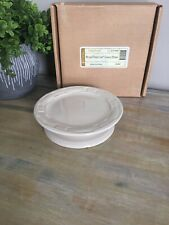 Longaberger Pottery Woven Traditions Candle Stand Ivory New!