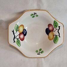 More details for 3 vintage art deco style nibbles bowls - solian ware - soho pottery cobridge