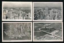USA New York City x4 c1920/40s? RP PPCs