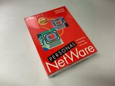 NEW SEALED NOVELL NETWARE PERSONAL DOS AND MS WINDOWS 5 USERS