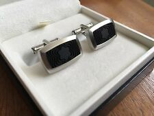 Beautiful MontBlanc Stainless Steel Cufflinks - MINT