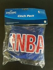 Spalding Nba Cinch Pack Embroidered Blue Mesh Dual Drawstrings New