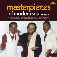 "MASTERPIECES OF MODERN SOUL VOLUME 4  ""BLACK AMERICAN SOUL WITH THE 70's SOUND"""