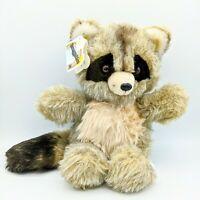 Vintage Snuggables Randy Raccoon Stuffed Animal/Plush 1983 by Heartline Rare