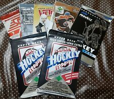 Hockey Cards New Sealed/Unopened Packs Assorted Brands/Years - U-Pick From List