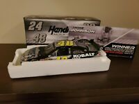 JIMMIE JOHNSON #48 2010 LOWES KOBALT LAS VEGAS RACED WIN 1/24 SCALE FREE SHIP