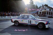 Toine Hezemans BMW 3.0 CSL WINNER SPA 24 H 1973 photographie