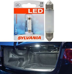 Sylvania Premium LED Light 578 White 6000K One Bulb Trunk Cargo Replacement Fit