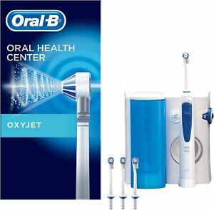 Oral-B OxyJet Munddusche Flosser Zahnpflege Zahnreinigung Mundhygiene + 4 Düsen