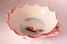 VEUVE PERRIN SEAU A BOUTEILLE FRENCH FAIENCE SOUP BOWL VP ANTIQUE