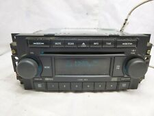 04-10 Chrysler Dodge Jeep Radio 6 Disc Cd Mp3 Player P05091175AA XXC13