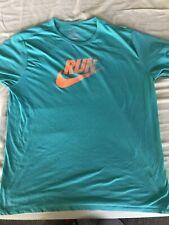 Mens Nike Green Dri Fit Graphic T shirt Sz Xxl