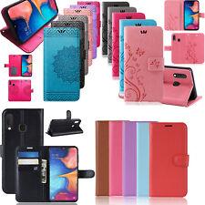 Handy Tasche für Samsung Galaxy A20e SM-A202 Hülle Case Schutz Etui Flip Cover