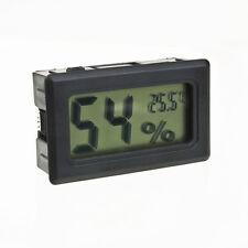 Misuratore Digitale LCD Temperatura Umidità Igrometro Termometro Terrario Rettile B