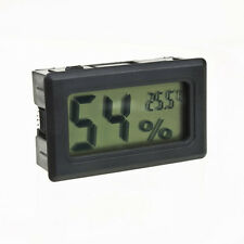 Medidor Digital De Temperatura LCD Humedad Termometro Higrometro Vivero Reptil B