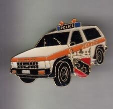 RARE PINS PIN'S .. POLICE SUISSE SWITZERLAND AUTOCAR 4X4  BERNE OURS ~C3