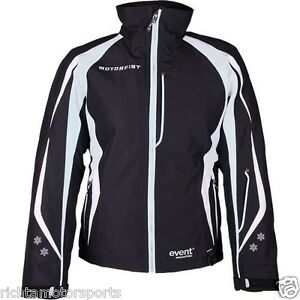 New MotorFist Women's Empress Snowmobile Jacket ~ Black/White ~ XL ~ 20590-9019