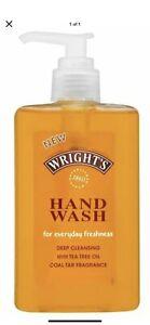Wright's Liquid Pump Hand Wash Coal Tar Fragrance Soap 250ml