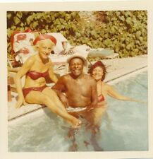 Louis Jordan Estate - Vintage 3.5 Photo Louie's L.A. Home Pool Party Bikinis