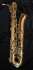 Magenta Winds Baritone Saxophon - BS2G in Gold Messing - Brandneu - Versandt