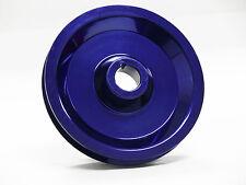 OBX Blue Aluminum Crank Pulley Fits 96 97 98 99 00 Civic 1.6L SOHC
