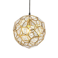 Modern Etch Web Pendant Light Shadow Lamp Living Room Chandelier Ceiling Fixture