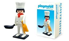 """COLLECTOYS Playmobil STATUE résine """"Vintage Collection"""" Cuisinier 21 cm"""