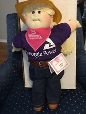 CABBAGE PATCH soft sculptured doll 1993 babyland hospital ed georgia power girl