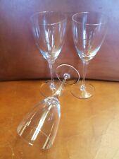 New listing Rare Set Of 3 Vintage royales de champagne France Rxz4 crystal Wine Glasses