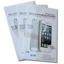3 x Samsung Galaxy S3 mini i8190 Displayfolie Schutzfolie + 3 Reinigungstücher