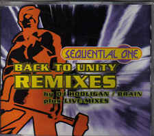 Sequential One-Back To Unity Remixes cd maxi single
