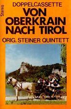 STEINER QUINTET Von Oberkrain Nach Tirol cassette tape 1976 German folk music