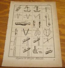 1792 Magic Print/ROPE TRICKS///SLEIGHT OF HAND///BLOOD FOUNTAIN