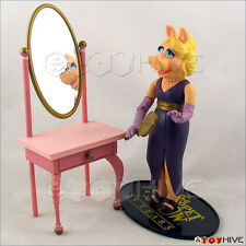 Muppet Show Palisades Miss PIggy short hair 25 year anniversary figure loose