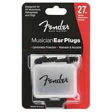 Fender Musician Ear Plugs - 27db Noise Reduction Rating