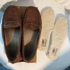 Ugg Australia Suede Hara Loafer Moccasin Slip On Shoes Size UK5.5