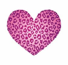 Leopard Skin Leperd Skin Heart Luv Hart Pink Sticker Decal Graphic Vinyl Label