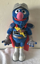 Sesame Street FLYING SUPER GROVER 2.0 Hasbro 2011, Talking Plush
