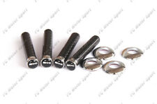 Carbon Fiber AMG Logo Door Lock Pins 4pcs For Benz Universal W204 C63 W218 W212