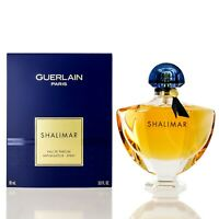 Shalimar for women by Guerlain Eau De Parfum spray 3.0 Oz-New in box