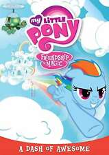 New: My Little Pony Friendship Is Magic: A Dash Of Awesome NTSC, Closed-captione