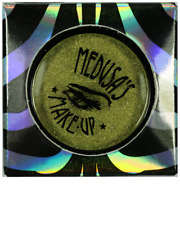 MEDUSA'S MAKEUP Eyeshadow Pressed Mineral Powder *Venom* lime green shimmer BNIB