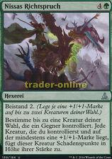 2x Nissas Richtspruch (Nissa's Judgment) Oath of the Gatewatch Magic