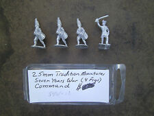 25mm Tradition Miniatures 7 Years War Command