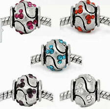 *ON SALE* 1 pink Disney Mickey Mouse Spacers for European Bracelets